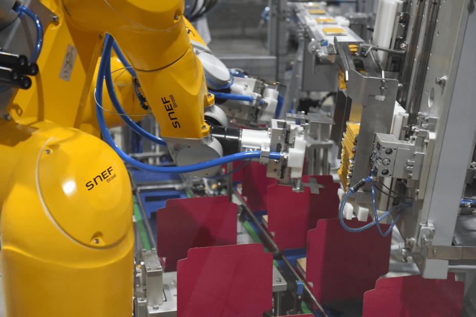 Soluções robotizadas para processos aumentam em 85% a produtividade da indústria